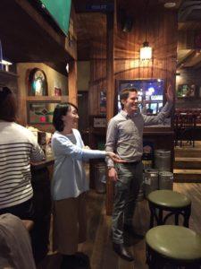 博多で国際交流 外国人とマンツーマン
