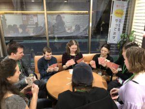 博多で国際交流 ラウンジパーティーで外国人とゲーム 福岡・博多で本格的な英会話を学ぶ
