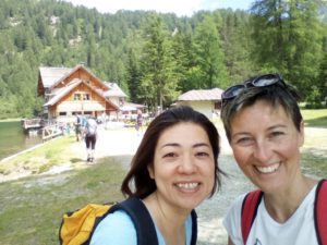 イタリア人の友人と一緒にイタリア旅行